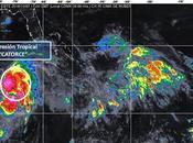 """depresión tropical """"14"""" forma Caribe esta cerca tormenta"""
