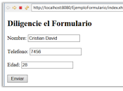 Formulario ManagedBean