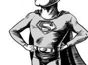 George Reeves, Superman ,Inktober