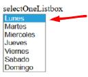 Como usar h:selectOneListBox