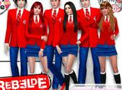 REBELDE School Uniforms Part. (Sims