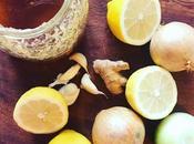 Jarabe natural cebolla,ajo, jengibre miel
