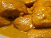 Pechugas pavo curry