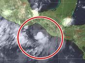 """tormenta tropical """"Vicente"""" forma México"""