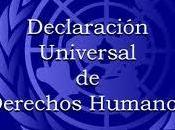 Declaración Universal Derechos Humanos
