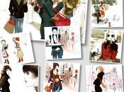 Ilustraciones moda sophie griotto