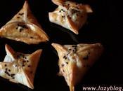 Empanadillas cebolla caramelizada queso cabra