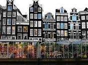 Mercado flotante amsterdam (holanda)
