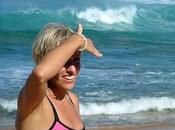 Yoga para surfistas Peggy Hall Capitulo Postura Caballo zona lumbar caderas