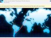 Descubre mapa ubicación amigos Facebook