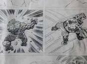Página inédita Jack Kirby para Cuatro Fantásticos