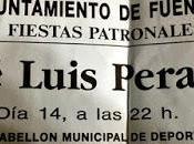 Entrada concierto Jose Luis Perales (Fiestas 1991)