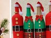 Aprende cómo decorar botellas navideñas cuerda henequén