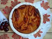 Pumpkin spice ruffled milk pie. Tarta calaba especiada masa filo.