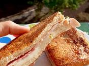 Salty french toast sandwich