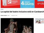 periódico MUNDO -Carabanchel capital teatro inclusivo, manu medina