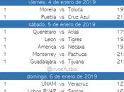 Calendario clausura 2019 futbol mexicano