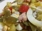 Ensalada patatas judías verdes