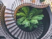 Escalera caracol Feng Shui