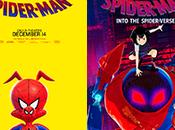 'Into Spider-Verse' estrena posters centrados protagonistas