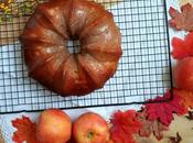 Bundt cake vino, canela manzana CrockPot (olla cocción lenta)