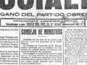 para socialistas españoles octubre 1918