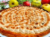 Tarta compota manzana merengue canela