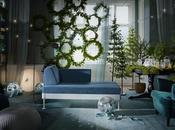 DIY: Cortina coronas navidad