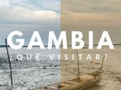 GAMBIA: visitar donde comer PARTE