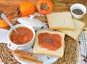 Mermelada casera caqui kaki palosanto (muy facil hacer)