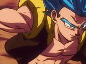 "Capturas Gogeta Broly nuevo trailer ""Dragon ball Super Broly"""