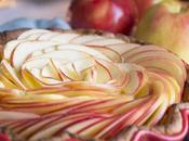 Pastel especiado manzanas Ambrosia para navidad