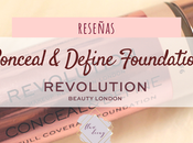 Conceal Define Foundation Makeup Revolution (Reseña Test Duración