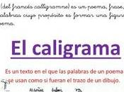 Actividad Biblioteca: CALIGRAMAS