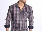 Hombres: Camisetas Camisas Cuadros!