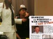Momento incómodo para Obama serenata Bradley Manning medio discurso video)