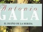 Antonio Gala dueño herida