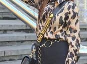 Camisa leopardo pantalon flare
