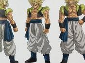 'Dragon Ball Super: Broly' compartieron diseños oficiales Gogeta