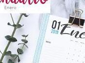 Freebie: Calendario 2019 Enero