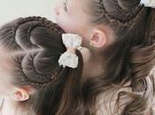 peinados corazón para niñas
