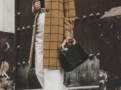 Checked coat- culottes pants look vuelta trabajo