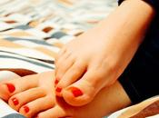 vida sana, unos pies sanos