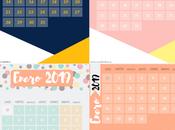 Welcome 2019. calendarios enero hechos canva puedes perder