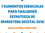 elementos esenciales para cualquier estrategia marketing digital 2019