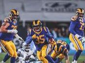 Rams arrollaron tierra Cowboys avanzaron Juego Campeonato