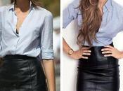 Outfits falda negra