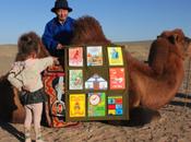 biblioteca móvil infantil lomos camello recorre desierto Gobi