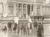 Fotos antiguas Madrid: Patinando frente Palacio Cristal