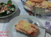 Cachopinos salmón horno